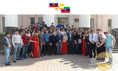 Дагестанские борцы побывали в гостях у земляков-ставропольцев (фоторепортаж)